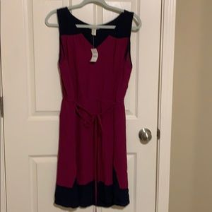 LOFT Colorblock Sundress | XL NWT